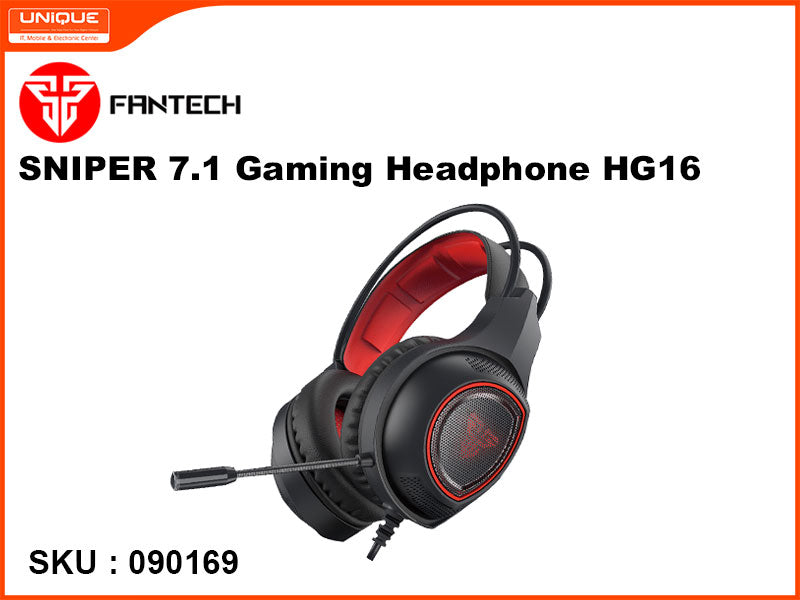 FANTECH HG16 SNIPER 7.1 Gaming Headphone