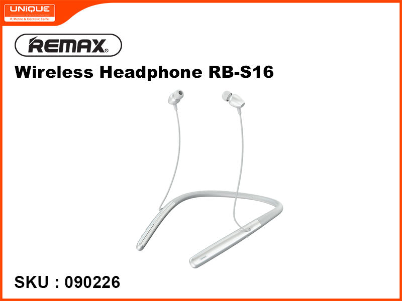 Remax RB-S16 White Wireless Headphone