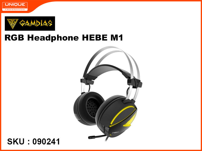 GAMDIAS HEBE M1 RGB Head Phone