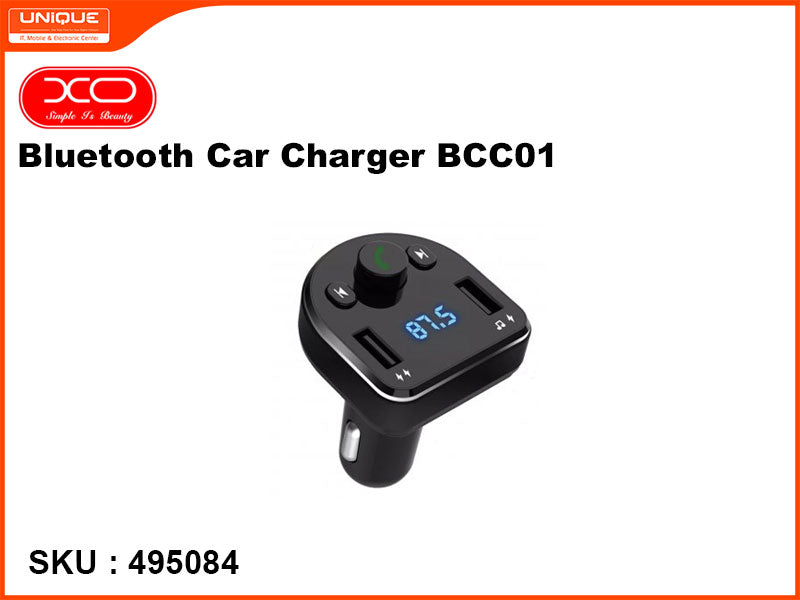 XO Bluetooth Car Charger, BCC01