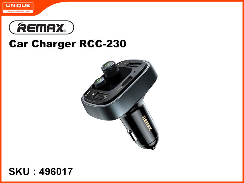 Remax RCC-230 Black Car Charger