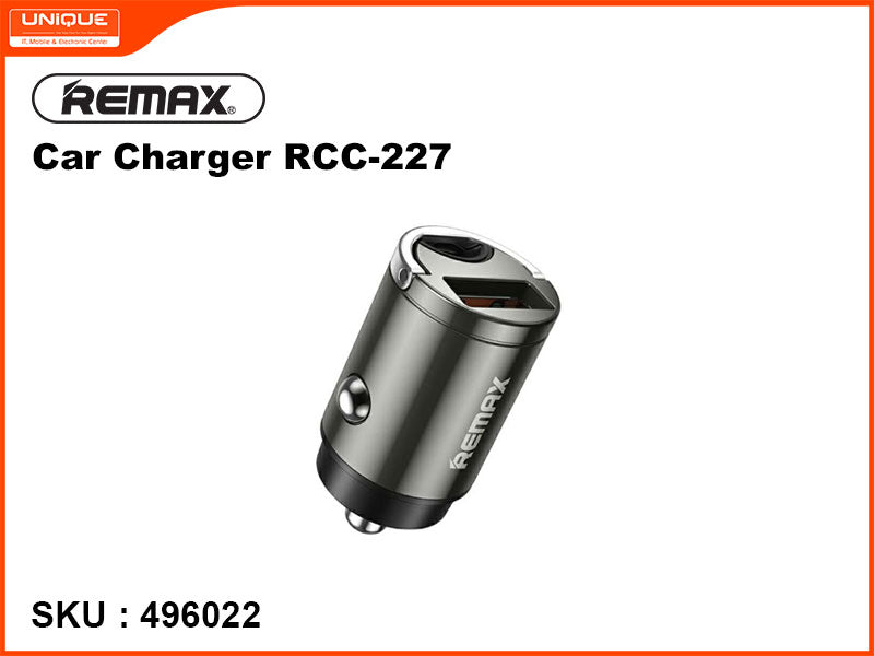 Remax RCC-227 Gray Car Charger