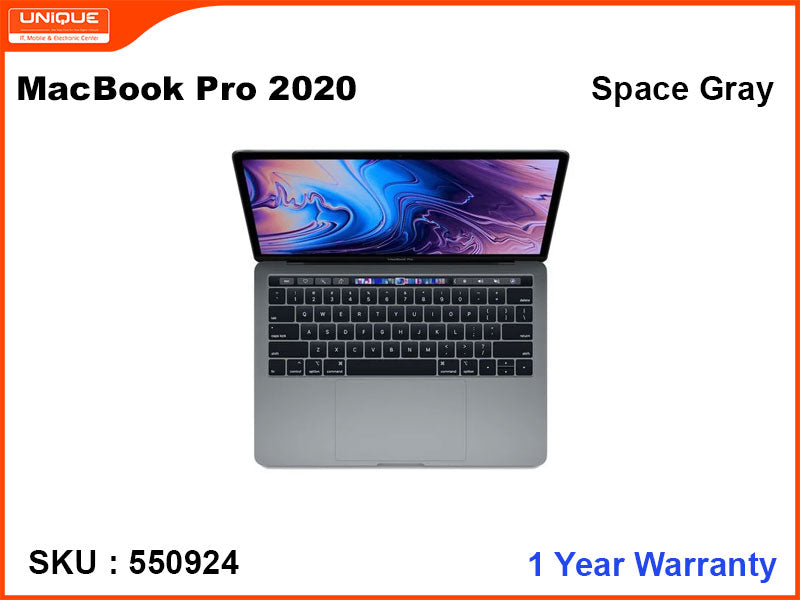 "MacBook Pro 2020 (i5-2.0GHZ, 16GB, 512GB, 13.3"") Touch Bar"