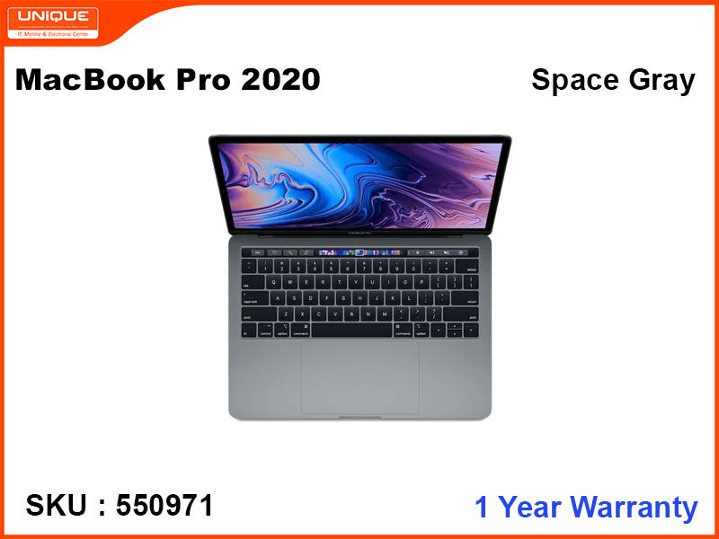 "MacBook Pro 2020   (i5-1.4GHZ, 8GB, 256GB, 13.3"") Touch Bar"