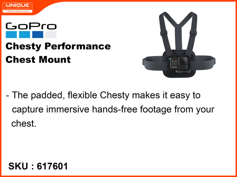 GoPro Black Chesty Performance Chest Mount