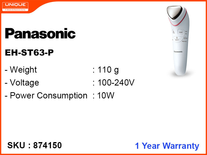 Panasonic EH-ST63-P Ionic Cleansing and Toning Device