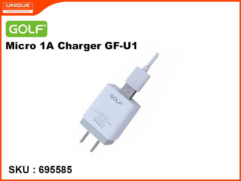 GOLF GF-U1 Micro 1A Charger