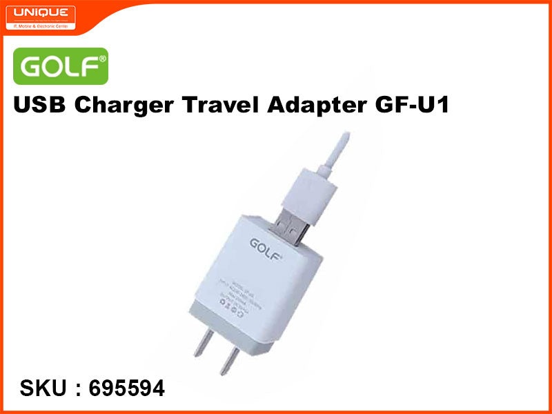 GOLF GF-U1 USB Charger Travel Adapter