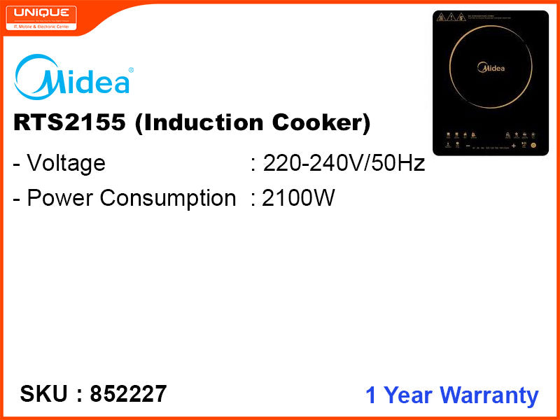 Midea Induction Cooker,  RTS2155