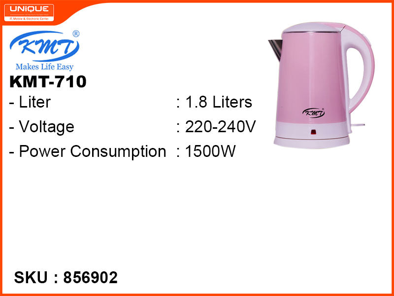 KMT Electric Kettle, 1.8L, 1500W, KMT-710
