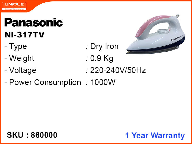 Panasonic Dry Iron NI-317TV