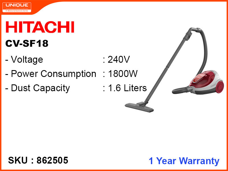 HITACHI CV-SF18 1800W Vacuum Cleaner
