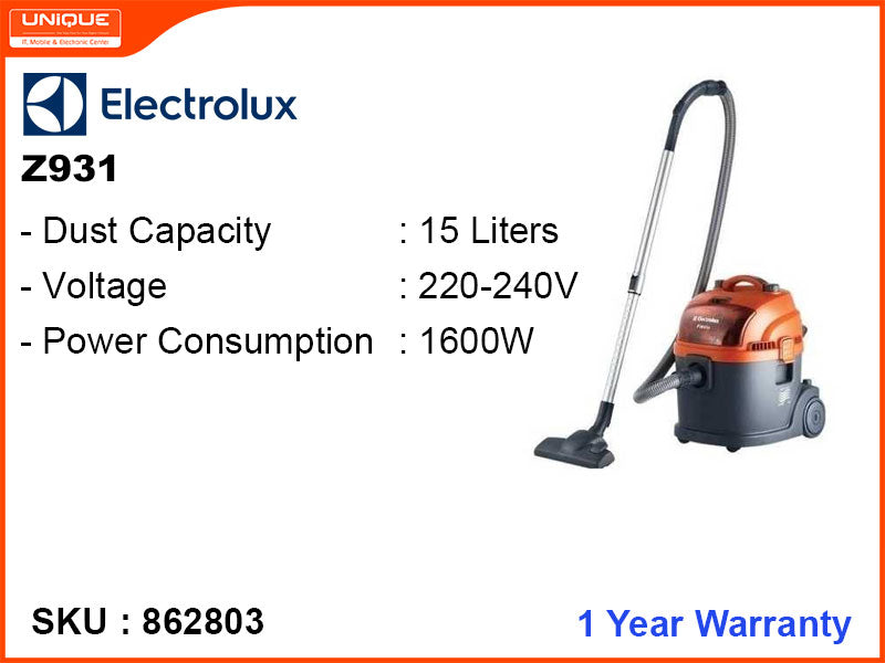 Electrolux Z931 1600W Vacuum Cleaner