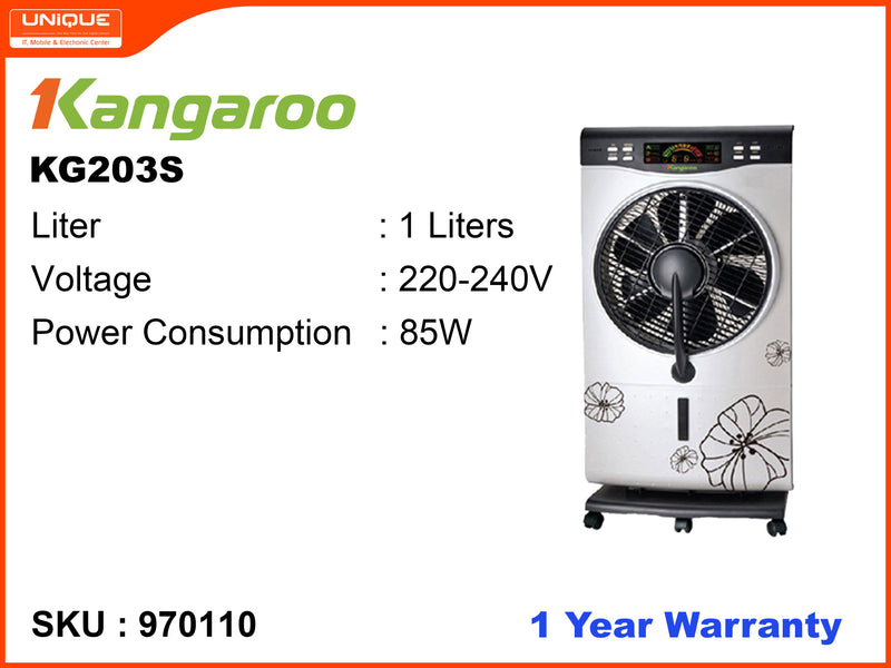 Kangaroo KG203S Box Fan With Humidifier