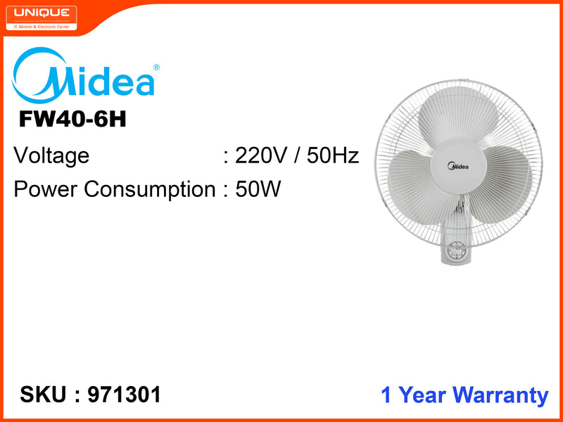 Midea FW40-6H Wall Fan