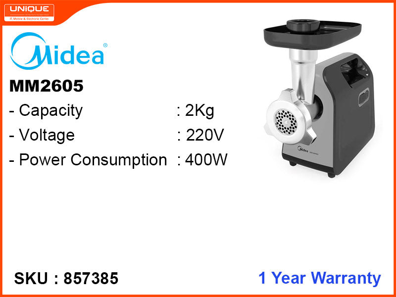 Midea MM2605 400W Meat Mincer