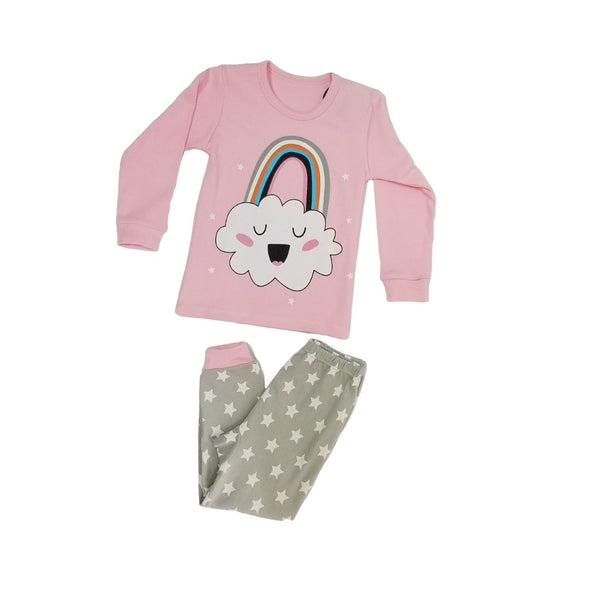PJ Set - Pink Rainbow