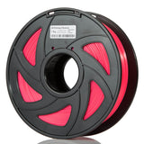 fluorescent red pla makerscube
