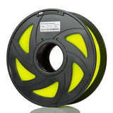 fluorescent yellow pla makerscube