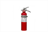 2.5lb fire extinguisher with mounting bracket
