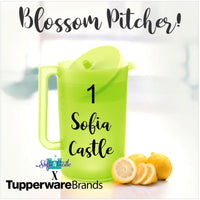 Tupperware Blossom Pitcher - 2.3L