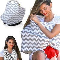 Infinity Nursing Cover Scarf with Matching Pouch