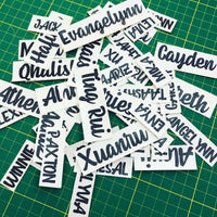 Customised Name Decal