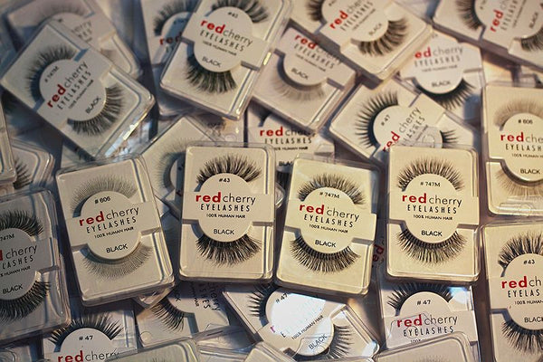 Red Cherry False Eyelashes - Different Models
