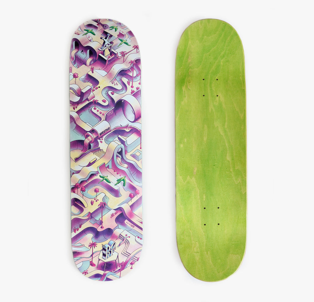 """THE DORF THE DECK"" Skateboard by Moritz Blumentritt"