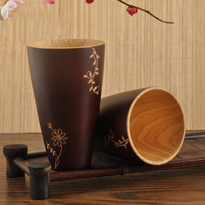 Tasse en bois de sapin recyclé, 100% naturelle, Made in France | The Luxe Wood® - The Luxe Wood