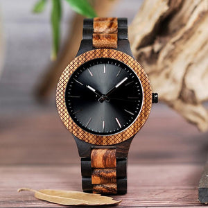 "Montre en bois pour homme ""ORIONIS"", 100% naturelle et faite à la main, Made In France 