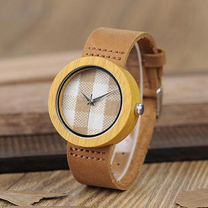 "Montre en bois pour femme ""MIRAGE"", 100% naturelle, faite à la main, Made In France 