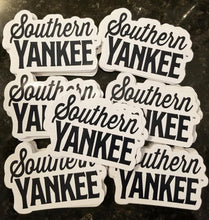 Load image into Gallery viewer, Southern Yankee Stacked Logo Auto Decal - Southern Yankee