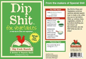 Dip Shit for Veggies