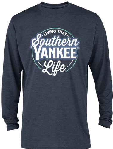 Living that Southern Yankee Life Long-sleeve T-shirt - The Southern Yankee
