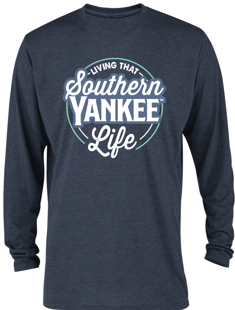 Living that Southern Yankee Life Long-sleeve T-shirt - Southern Yankee