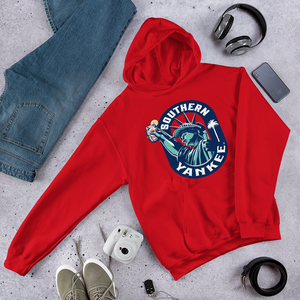 Lady Liberty Unisex Hoodie - The Southern Yankee