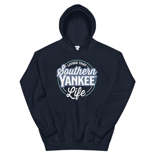 Living That Southern Yankee Life Unisex Hoodie - The Southern Yankee