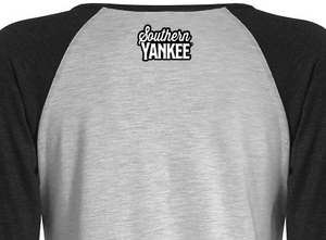 Northern Roots 3/4 Raglan Heather Ladies T-shirt - Southern Yankee
