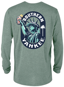 Liberty Oval Long Sleeve T-shirt - The Southern Yankee