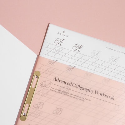 A L'aise - Advanced Calligraphy Workbook