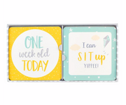 Busy B -  BABY MILESTONE CARDS