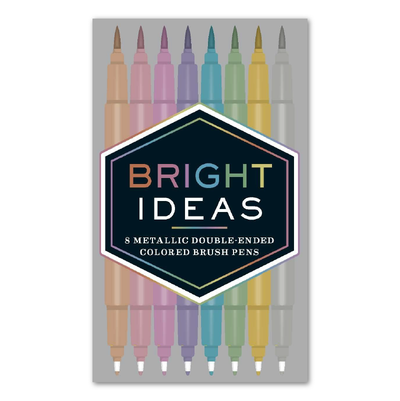 Bright Ideas - 8 Brush Pens