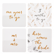 Busy B - Bride to B - Wedding Countdown Cards