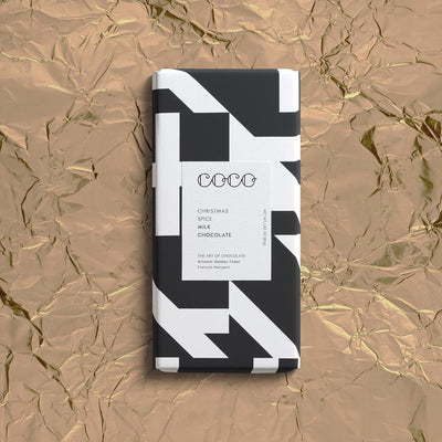 COCO - Christmas Spice Milk Chocolate 80g
