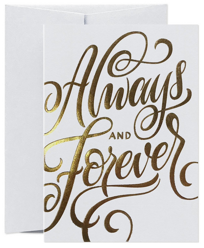 Card Nest - 'Always and Forever' Greeting Card