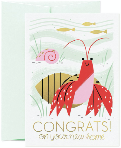 Card Nest - 'Congrats! On your New Home' Greetings Card