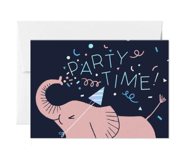 Card Nest - 'Party Time' Greetings Card