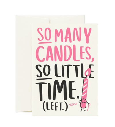 Card Nest -  'So Many Candles' Greetings Card