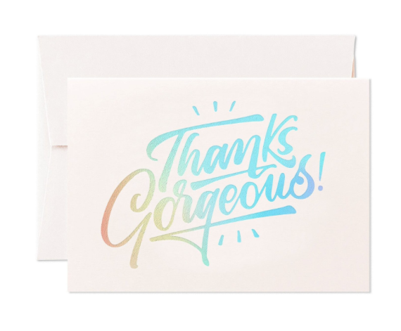 Card Nest - 'Thanks Gorgeous!' Greetings Card